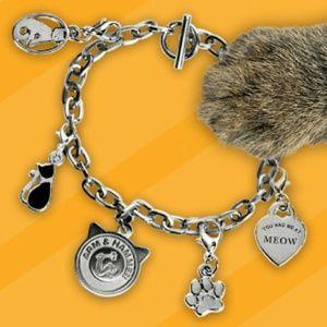 Jewelry - NWOT Cute Cat Charm Bracelet Jewelry